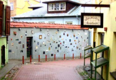 Literatų street, 1 km