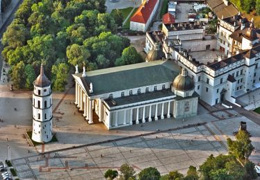 The Cathedral of Vilnius, 1,5 km