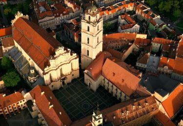 Architectural ensemble of Vilnius University, 1,2 km